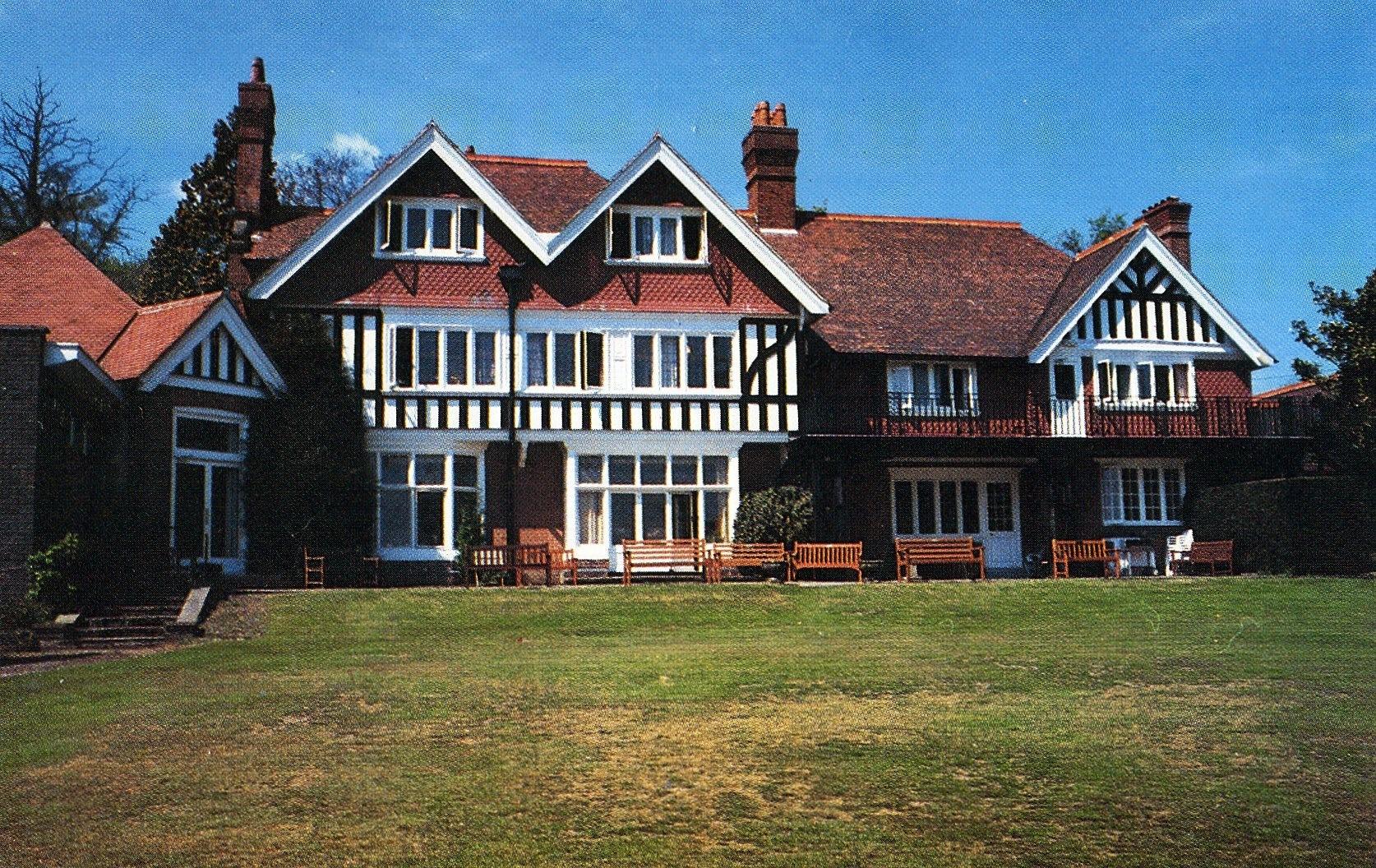 イギリスボランティア時代に住み込みしていた老人ホーム。